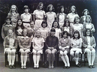 Amy in British Girls School